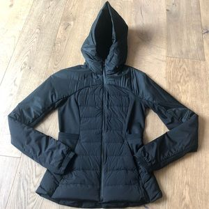Lululuemon down for it all jacket size 4